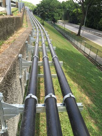PE Pipeline saves flanges