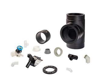 Each AGRU fitting is an optimized product for the use in pressure piping systems.