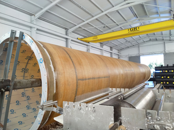 ECTFE dual-laminate part of the stack