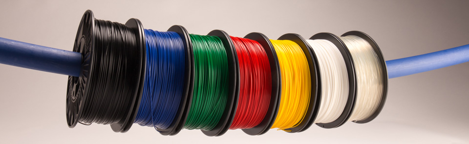 PLA filaments for 3D printing