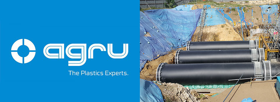 AGRU the Plastics experts. large diameter pipes