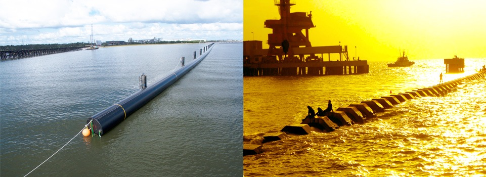 XXL diameter HDPE pipes for marine installation
