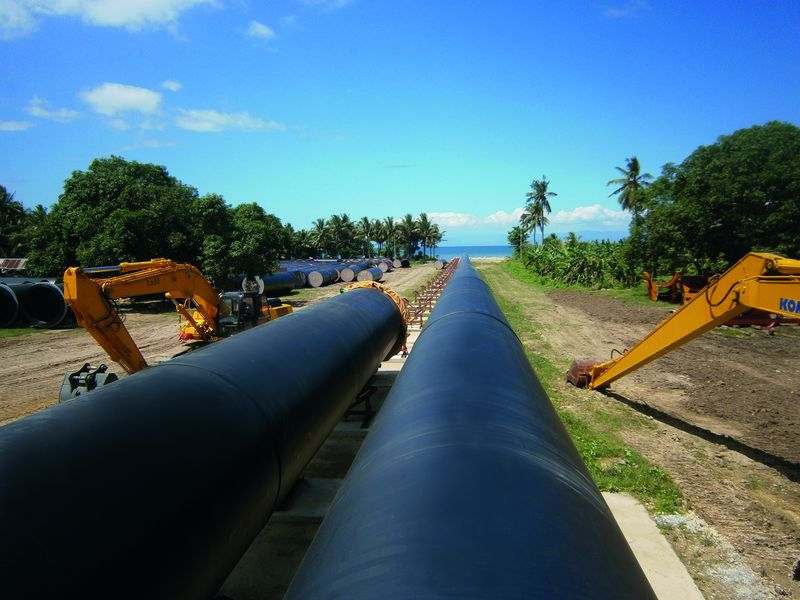 Agruline gro rohrsystem agru for Water line pipe material