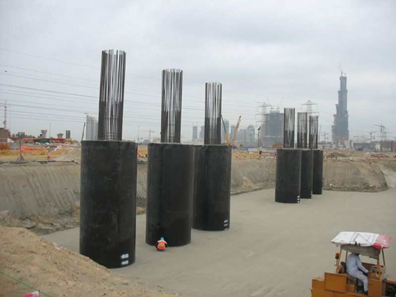 HDPE liner and concrete protective liner protects Island - AGRU