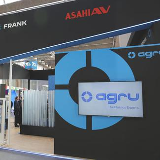 AGRU Booth at ACHEMA 2018